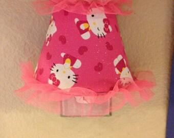 Hello Kitty Night Light Pink and Girly