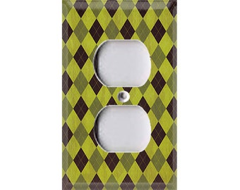 Nature Lover Collection - Argyle Outlet Cover