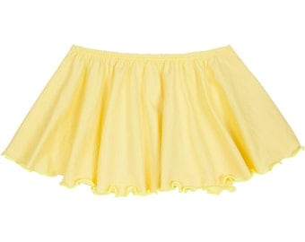 YELLOW Toddler & Girls Flutter Ballet Dance Skirt