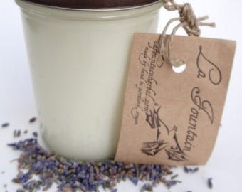 Lovely Lavender Soy Candle, Soy Candles, Handmade Candles, Organic Candles