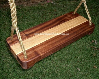 Wood Tree Swing- Oakipele Series