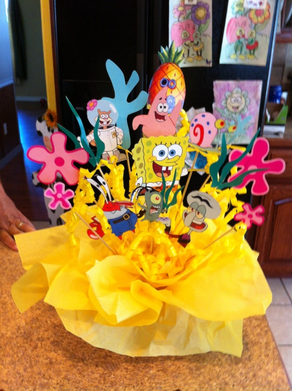Items Similar To Character Diy Kit For A Party Centerpiece