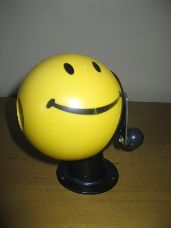 1970s Berol Happy Face Pencil Sharpener Smiley Face Sharpener