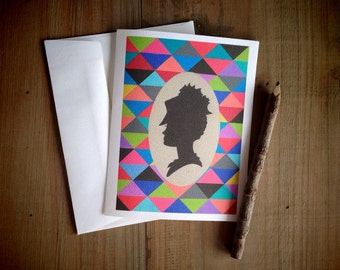 Victorian Lady: Blank Stationery