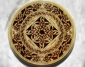 Celtic Knot Witch Board, Pendulum Scrying, Pathways