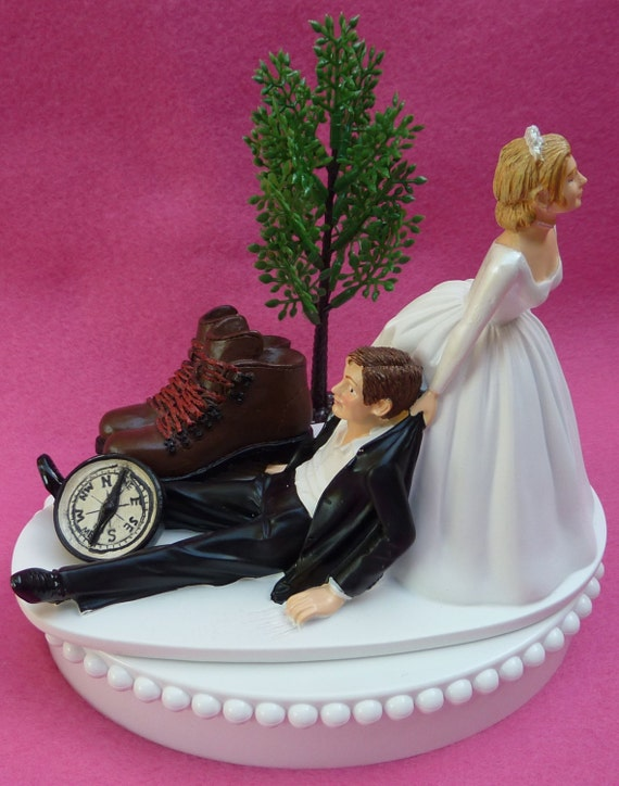 Hiking Boots Cake Topper