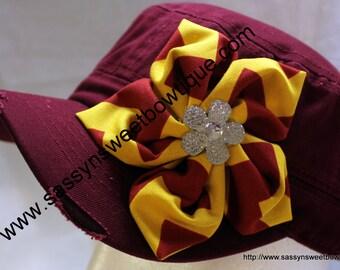 Embroidered Fashion Flower Cadet Cap***SALE***