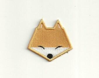Tiny Cute Fox Face Patch! Custom Made! F8
