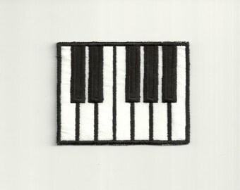 Piano Key's Patch! Custom Made! AP135