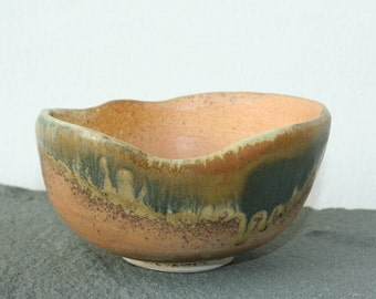 Hand Thrown and Altered Pottery Bowl