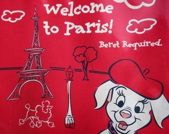 Luggage Dalmation Movie Paris Suitcase