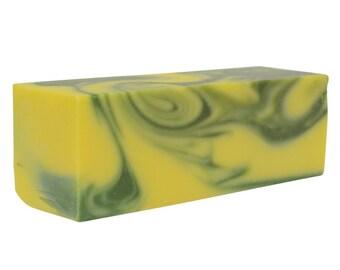 Lemon Verbena Artisan Soap Loaf -3 Pounds