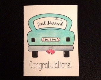 Congratulations (Just Married)