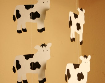 Cow Garland, Cowboy Party, Barnyard Party, Cow Party,