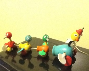 Fisher Price Duck Wooden Pull toy