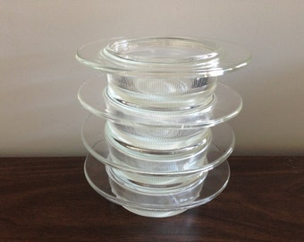 Heller Microwave/ Bakeware Designed By Massimo And Lella Vignelli , Set of Four