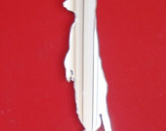 Meerkat Mirror - 5 Sizes Available. Also available in packs of 10 Baby Meerkats for crafting and decorative use