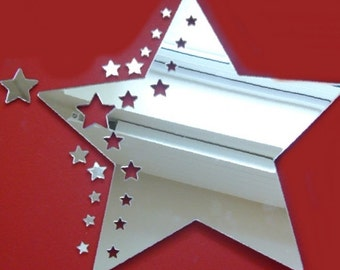 Star Cluster Shaped Mirrors - 4 Sizes Available