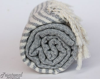 Turkish Hammam Towel Peshtemal Towel Pestemal Towel Beach Towel Bath Towel Cotton Spa Sauna Pool Towel