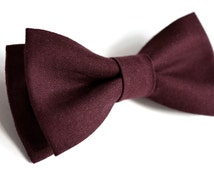 unique solid maroon tie related items etsy