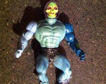 Vintage He-Man Skeletor MOTU Action Figure