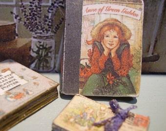 Anne of Green Gables Miniature Book 1:12