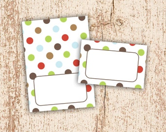 PRINTABLE Come Sit Stay - Tent Cards Place Cards Instant Download