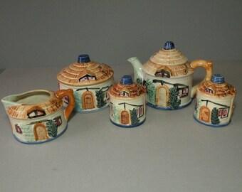 Japan Cottage Tea Set