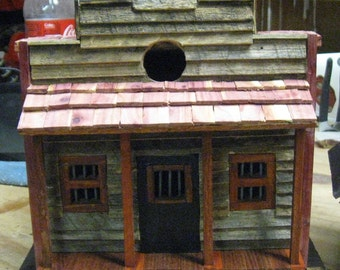 Western Style Jail Bird House