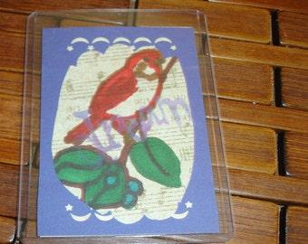 Bird 4 Original ACEO