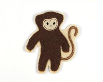 Patch monkey ape 8,5 x 7,5 cm