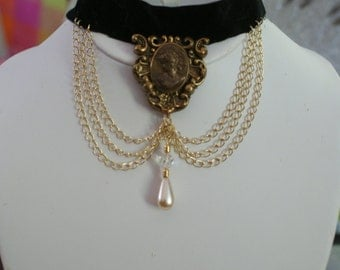 Beautiful Vintage Choker- perfect for your Downton Abby costume