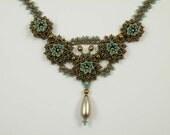 Beading Tutorial - Romantic Rosette Necklace