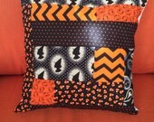 Reserved for MIRANDA. Custom halloween scrap pillow