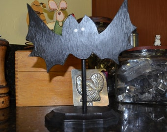 Halloween Bat on a Stand