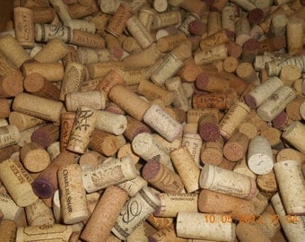 800 Used wine corks