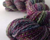 NEW COLORWAY - Ruination - dyed in the wool, bfl superwash sock yarn, hand dyed, millspun