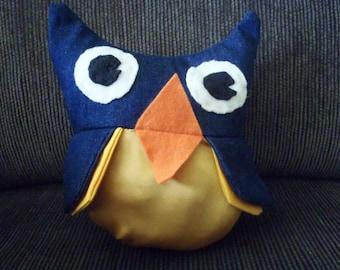 Little Adorable Owl Plush Handmade