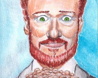 Conan O'Brien - 8 x 10 Print