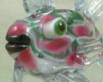 Hollow Lampwork Fish Bead