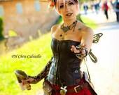 Steampunk fairy wings mini size