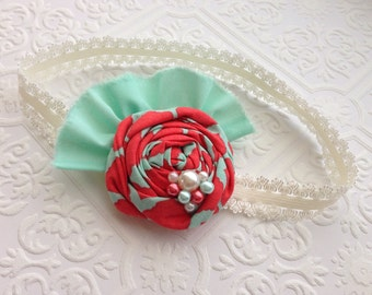 The Mint to Be Headband or Hair Clip