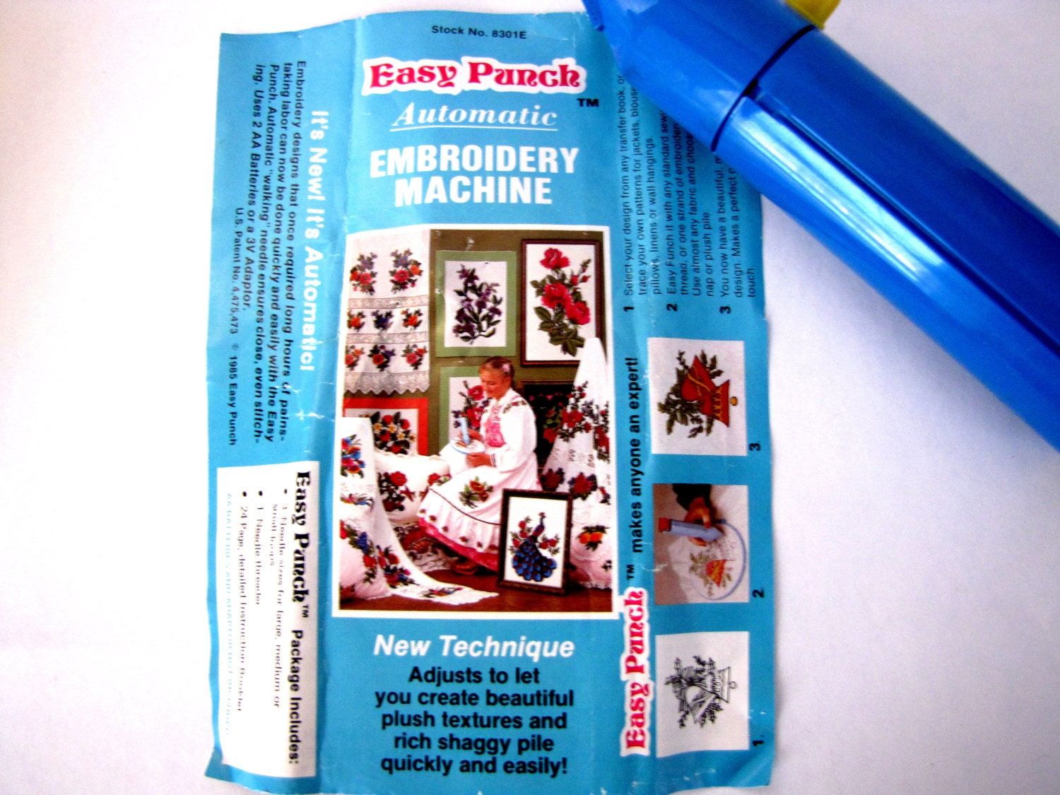 easy punch embroidery machine
