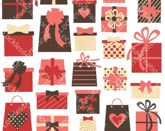 Gifts Collection Digital Clip Art