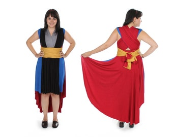 God of Thunder inspired Convertible Dress