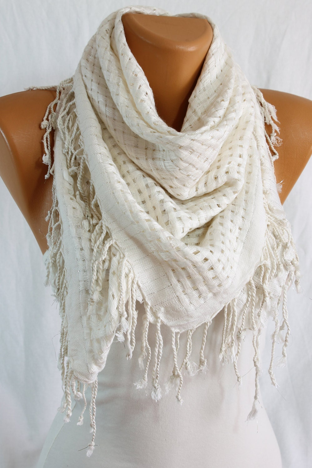 Shop for white scarf online at Target. Free shipping on purchases over $35 and save 5% every day with your Target REDcard.