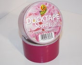 Frosting Scented Duct Duck Tape - Rare - Duck Brand Roll - Smelly - Pink - Magenta