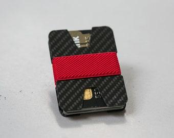 Minimalist wallet, credit card wallet, carbon fiber wallet, slim wallet, modern wallet, design wallet, X wallet, Elephant Wallet