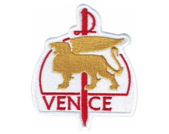 Venice Italy (A) Embroidered Sew On Patch