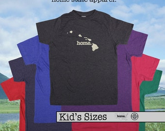 Hawai'i home t-shirt KIDS sizes The Original home tshirt